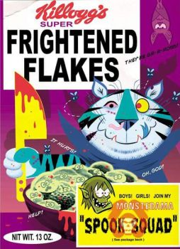Frightened Flakes by VonKreep1313