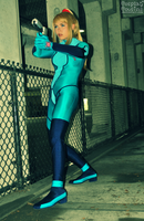 Samus On A Mission by CosplayCousins
