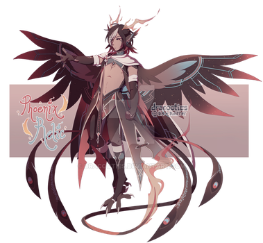 [CLOSED, TY!!] Serafin Auction 18: Phoenix Relic by dracooties