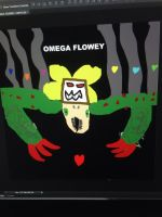 My Version Of Omega Flowey by StantheSpider