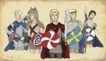 satw - the nordics - ravens from the north by aldohyeah