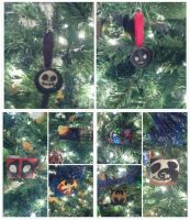 Christmas Ornament Collage by wolf-girl87