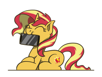 Sunset Shimmer Day 2018(GIF) by FlutterLuv