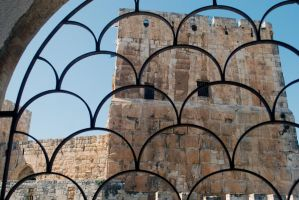 Looking to the Tower of David by dpt56
