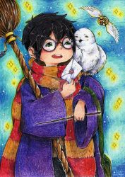 Harry Potter by KazeAi7