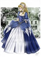 Beauty in Blue 1773 by Royal-Anime-Club