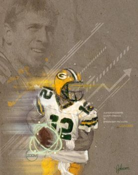Aaron Rodgers by ARTBLiNKY