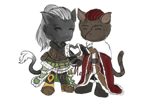 Tene and Pasht by TheMerciD