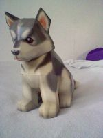 Papercraft Puppy by Digi-Elf