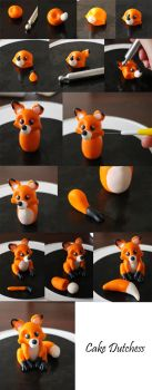 Fox step by step by Naera