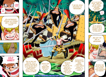 One Piece 838 - pag 08 - 09 by kabaria