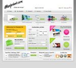 MaxiPrint Website Layout by coaxie