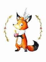 Foxie by Lavenderwitch