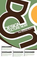 Design Culture Now - Poster 1 by Emn1ty