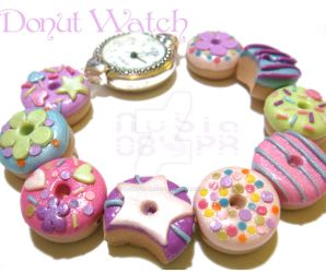 Donut watch by colourful-blossom
