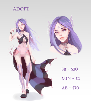 ADOPT Auction (CLOSED) by Aurillador