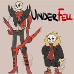 Underfell - Sans and Papyrus by AlyNaly