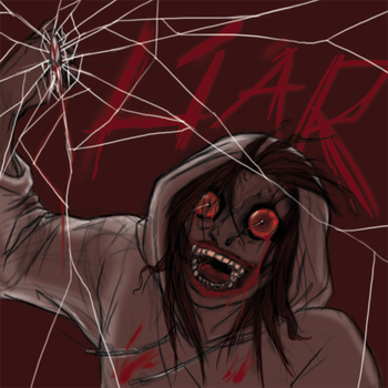 Jeff the killer sketch by Paws4Hire