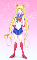 Sailor Moon first anime Fuku. by GrandZebulon