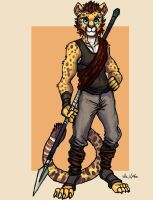 Cheetah Warrior - 01 by TheLivingShadow