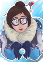 Overwatch : Mei by Israel42