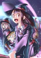 Little Witch Academia by MickesDA