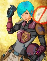Colours on Beamer's Sabine by hellbat