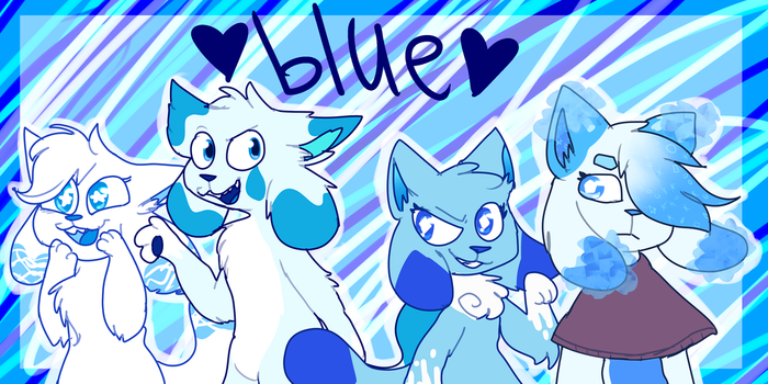 everything is blue by FROSKII