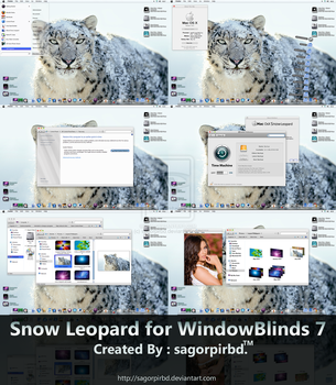 Snow Leopard for WindowBlind 7 by sagorpirbd