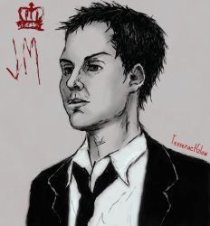 Jim Moriarty ~ Andrew Scott by Lykusio