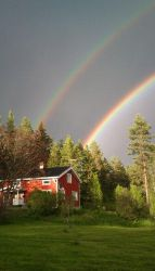 DOUBLE RAINBOW OMG by Nr9Demyx