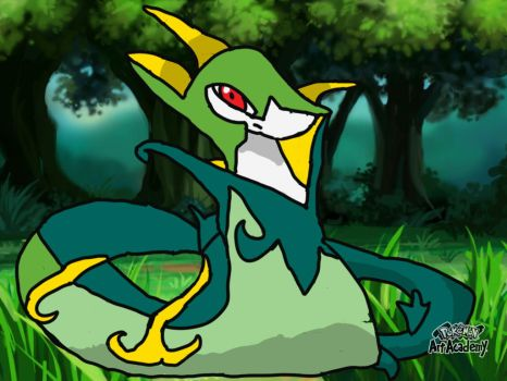 Serperior by mgunnels3