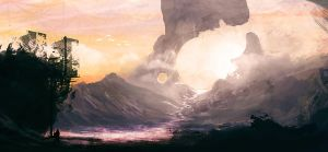 Crater Mountain by jordangrimmer