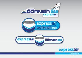 Express Air Stickers by djac