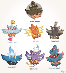 Pumpkaboo Variations by Magnum-Redstar