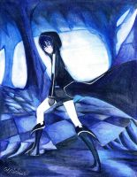 Black Rock shooter 9h x 7h by Antervantei