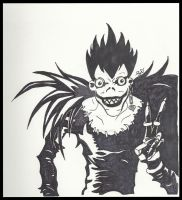 Ryuk - Death Note by Sarah-Vafidis