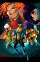 INVINCIBLE Teen Team by ZeyJin
