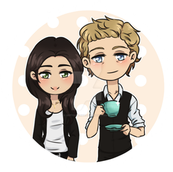 The Agent and The Mentalist by septemberice