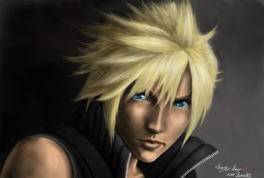 Cloud, Final Fantasy VII by Junica-Hots