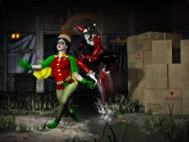 Robin and Harley-KONK by MollyFootman