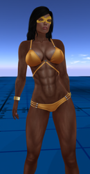 Golden Girl Andi (Nubian) by andbond