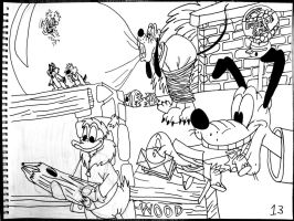 Pluto's Package, Bubble Bee and Chip n Dale by AverageJoeArtwork