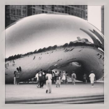 Chicago- The Bean by bgfilly