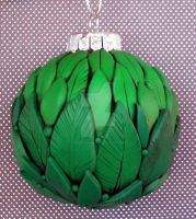 Green Leaves Ornament by MandarinMoon