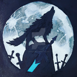 Sif, the Grey Greatwolf by MrNinjatastic