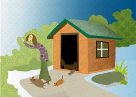 Time to Clean Out the Shed by melemel