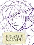 Sponsor A Sketch - Link by AdriOfTheDead