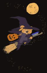 The Best Ber Happy Halloween Witch by DasMoo
