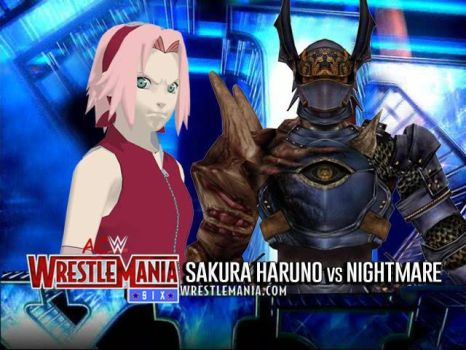 WrestleMania Six - Sakura vs Nightmare by JoeyTribbiani125